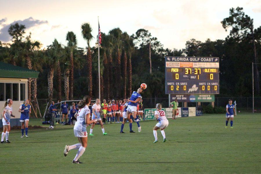 Women's soccer draws season opener