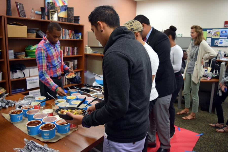 Hispanic food was provided for the guests of the event. (EN Photo/Rachel Iacovone)