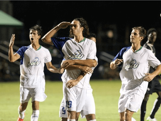 Six-peat: Men's soccer earns sixth A-Sun title with win at Upstate