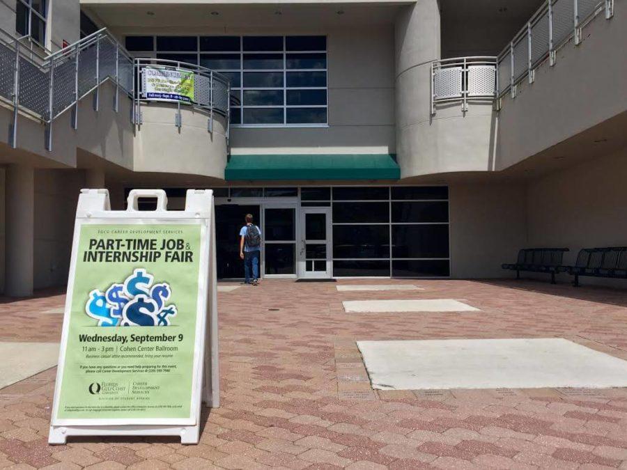 FGCU to hold part-time job and internship fair