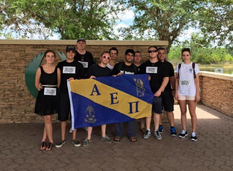 AEPi brothers after completing their first