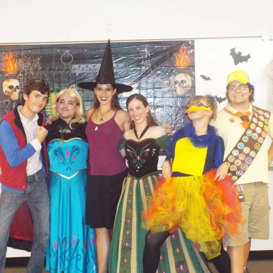 The FGCU Improv Club celebrated Halloween by wearing different costumes this year.