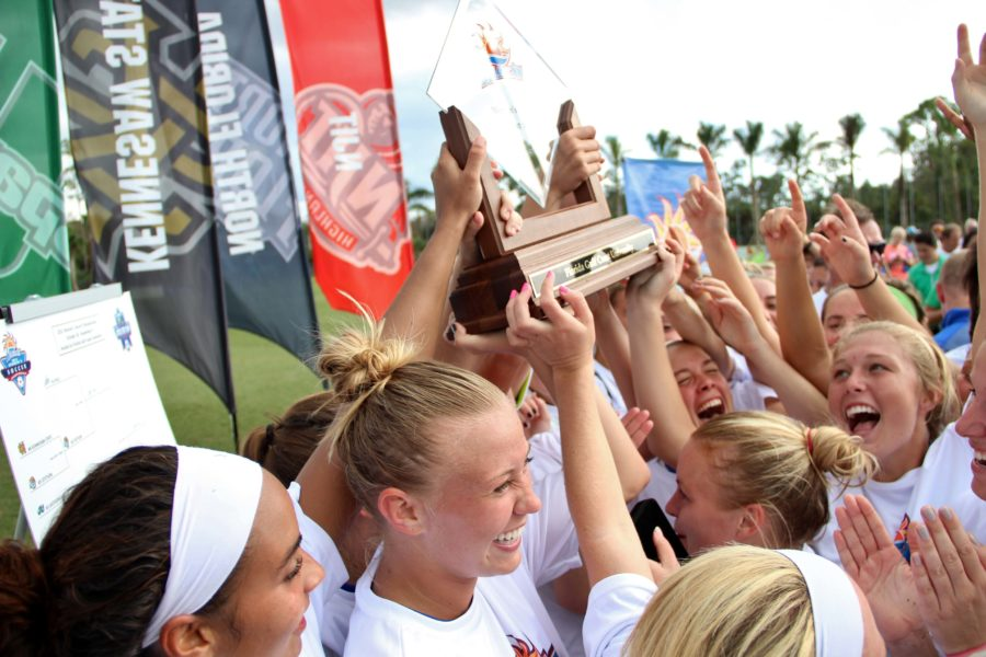 FGCU+earns+fourth+A-Sun+championship+title+with+5-0+win+over+Lipscomb