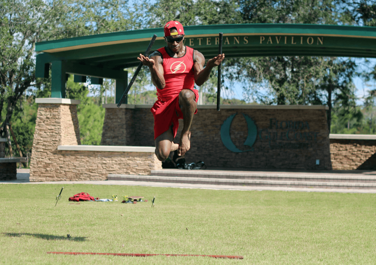 FGCU student Jordan Brown trains for American Ninja Warrior