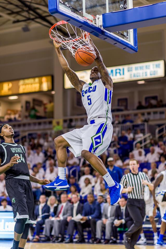 FGCU guard Zach Johnson named Atlantic Sun Co-Newcomer of the week