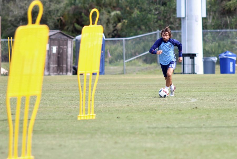 New York City FC holds open training session to public