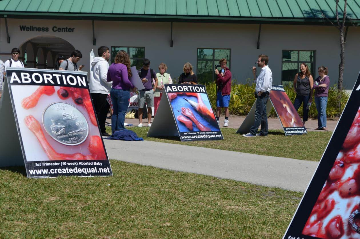 Controversial anti-abortion group won't come to FGCU this year
