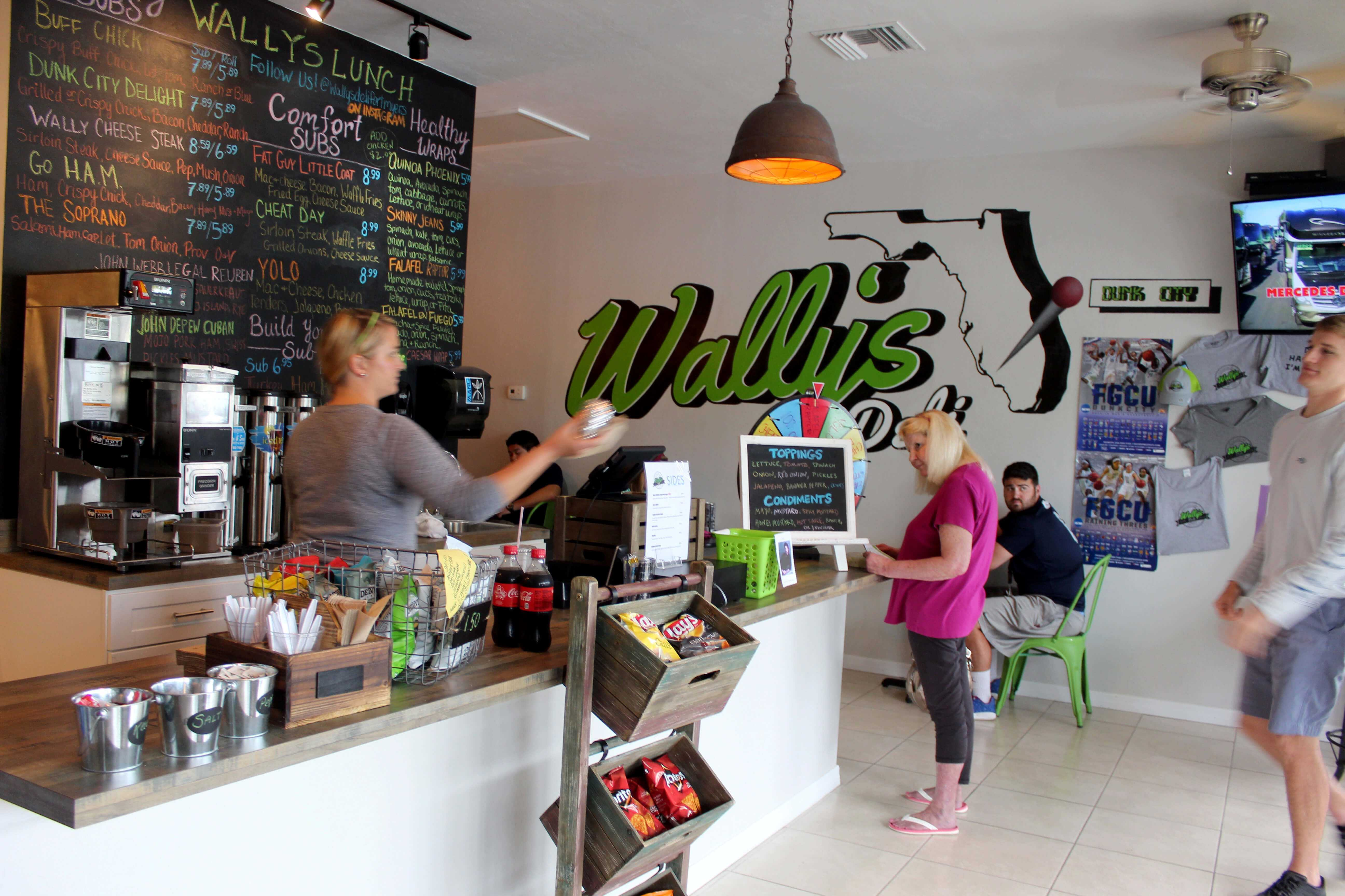 FGCU alumnus opens Wally's Deli in Fort Myers