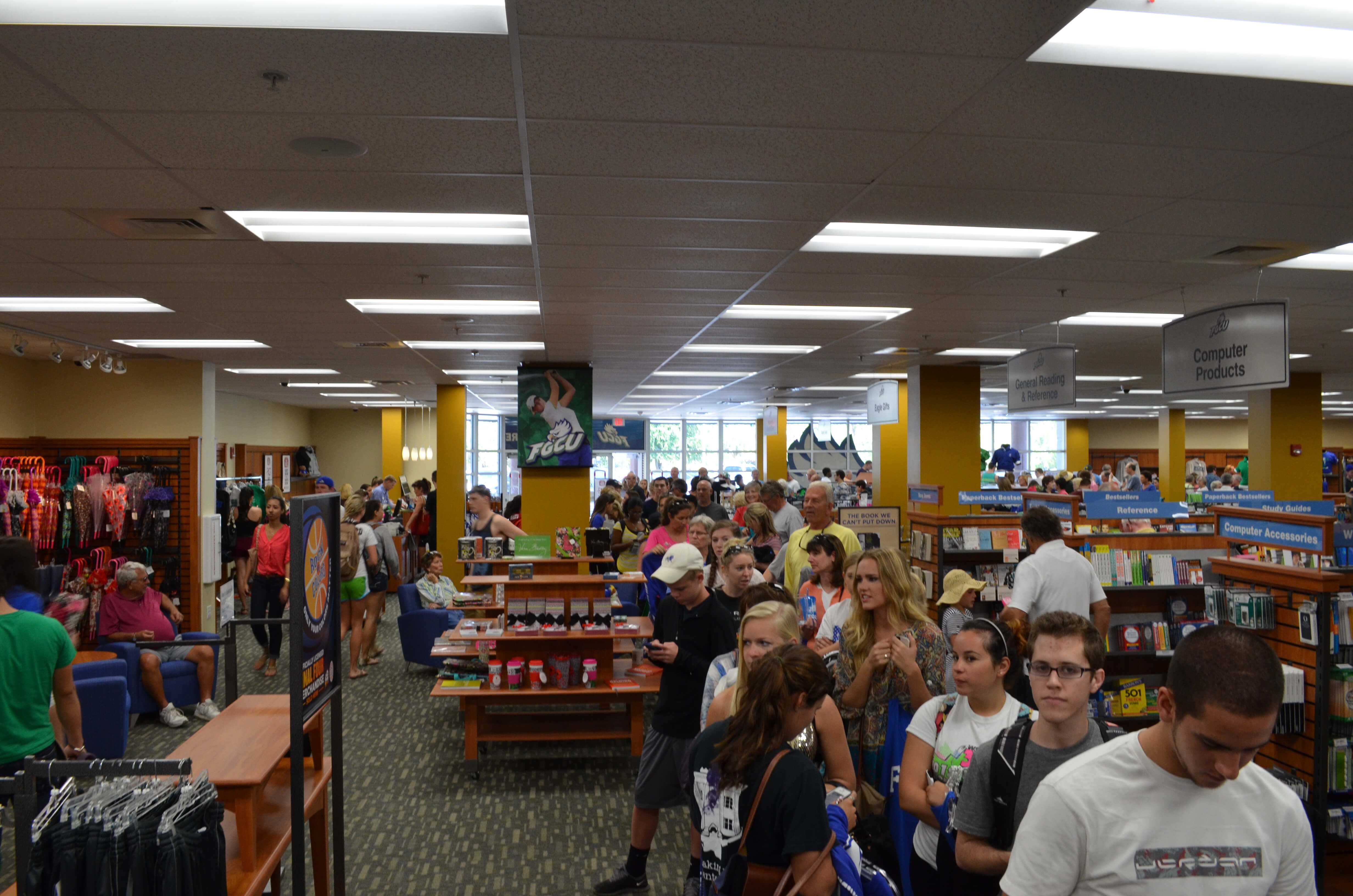 NCAA wins boost school pride and bookstore sales at FGCU