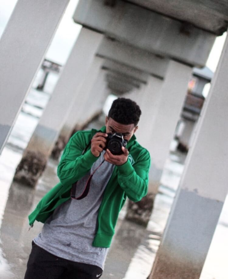 FGCU athlete Cam Thomas shares his passion for photography