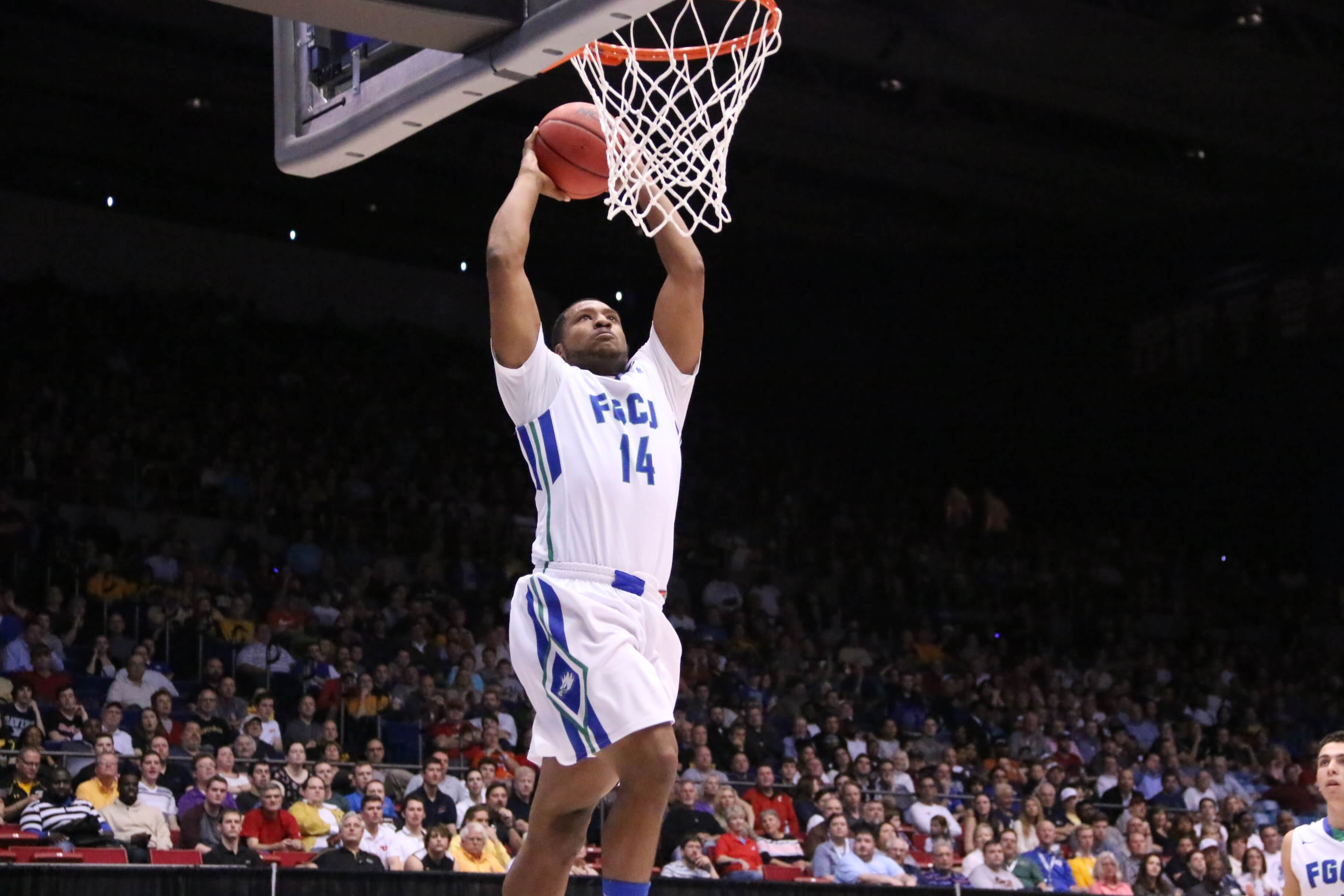 No. 16 FGCU to face No. 1 UNC in Second Round