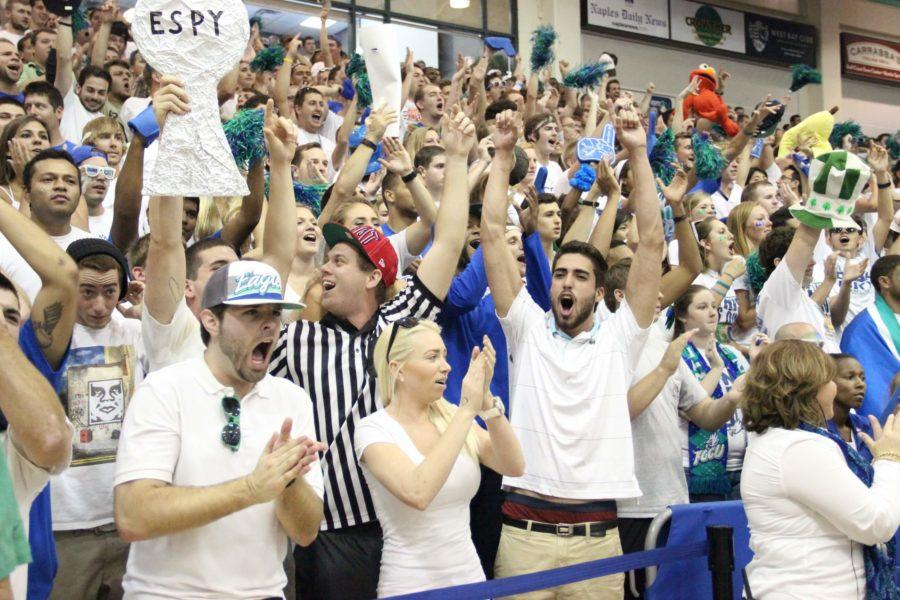 Upset City: FGCU students anxiously await tonight's game in hopes of another NCAA tournament win