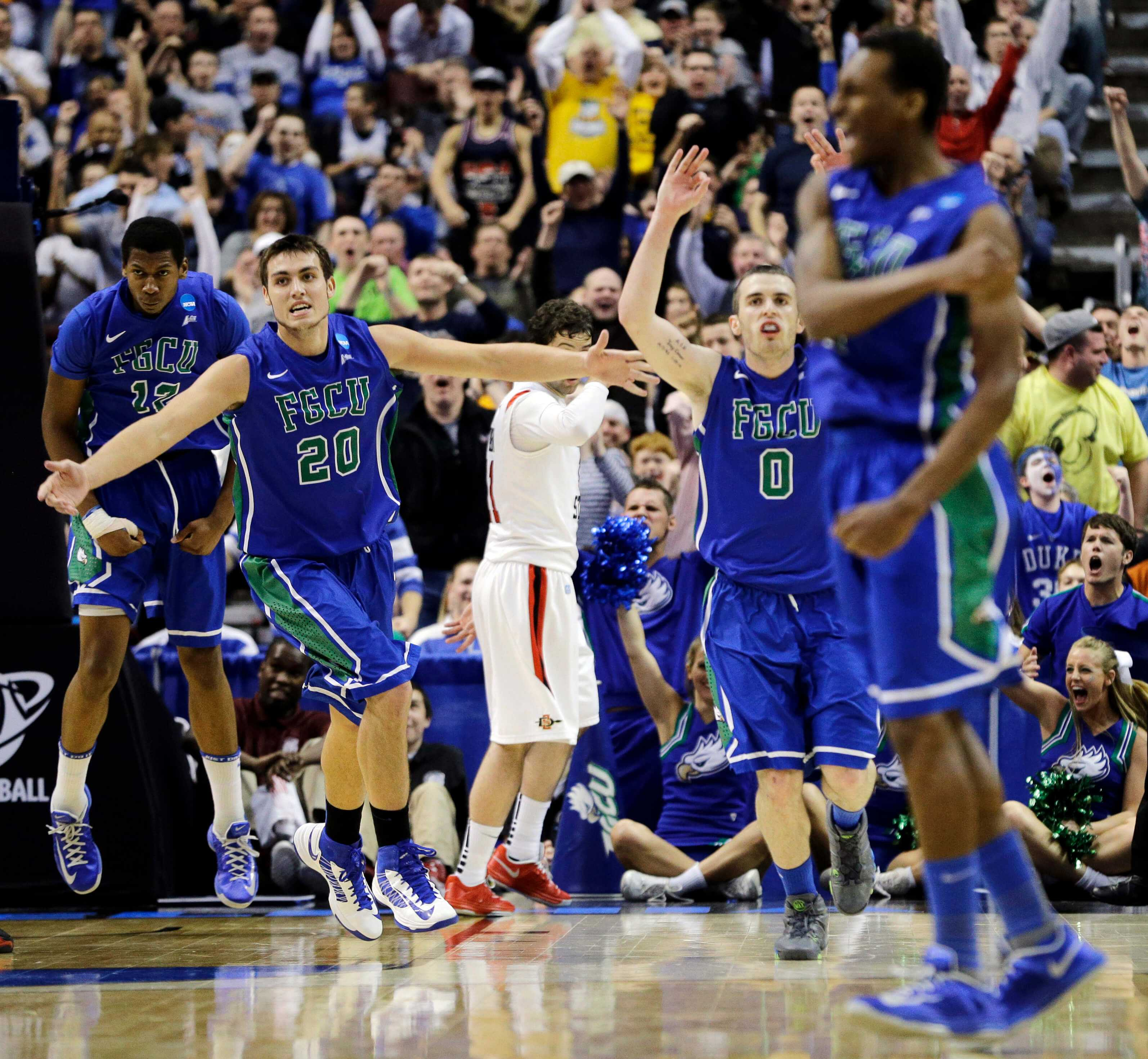 Sweet sensation: FGCU men first No. 15 seed to win two straight