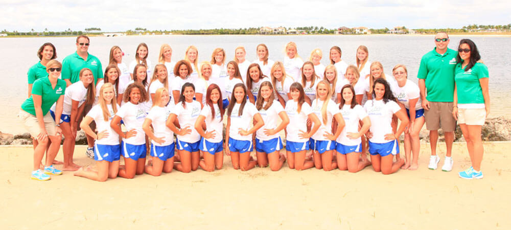 FGCU swimming captures fifth-straight CCSA crown