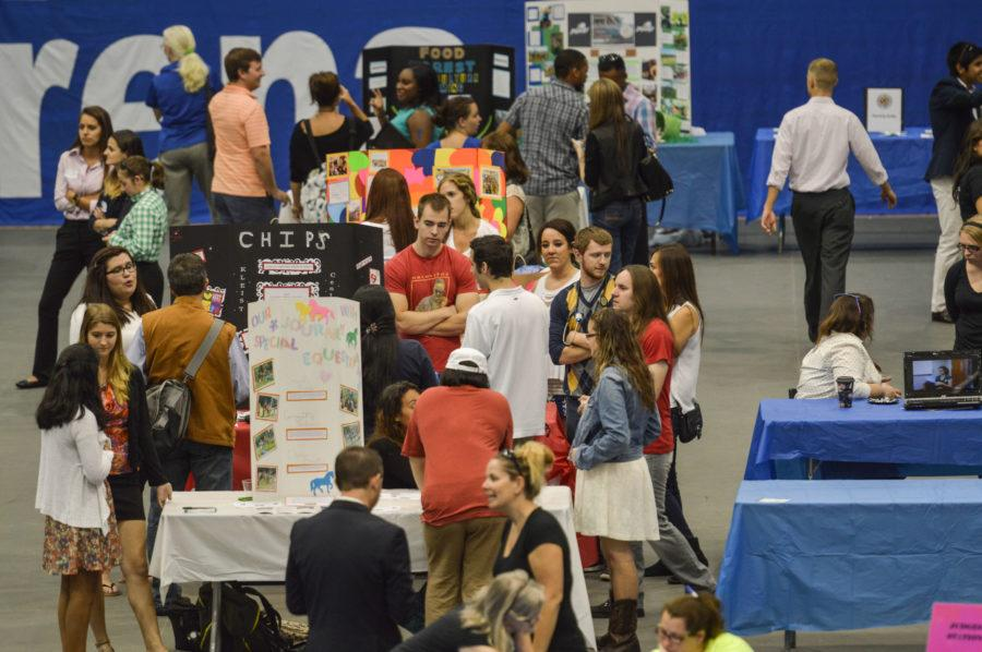 Students+table+at+2014s+Community+Engagement+Day.+%28EN+Photo+%2F+James+Greco%3A%29