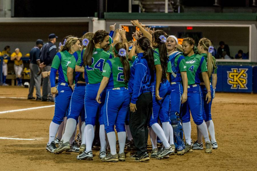 Softball%3A+FGCU+starts+strong+against+Lipscomb+but+struggles+to+finish
