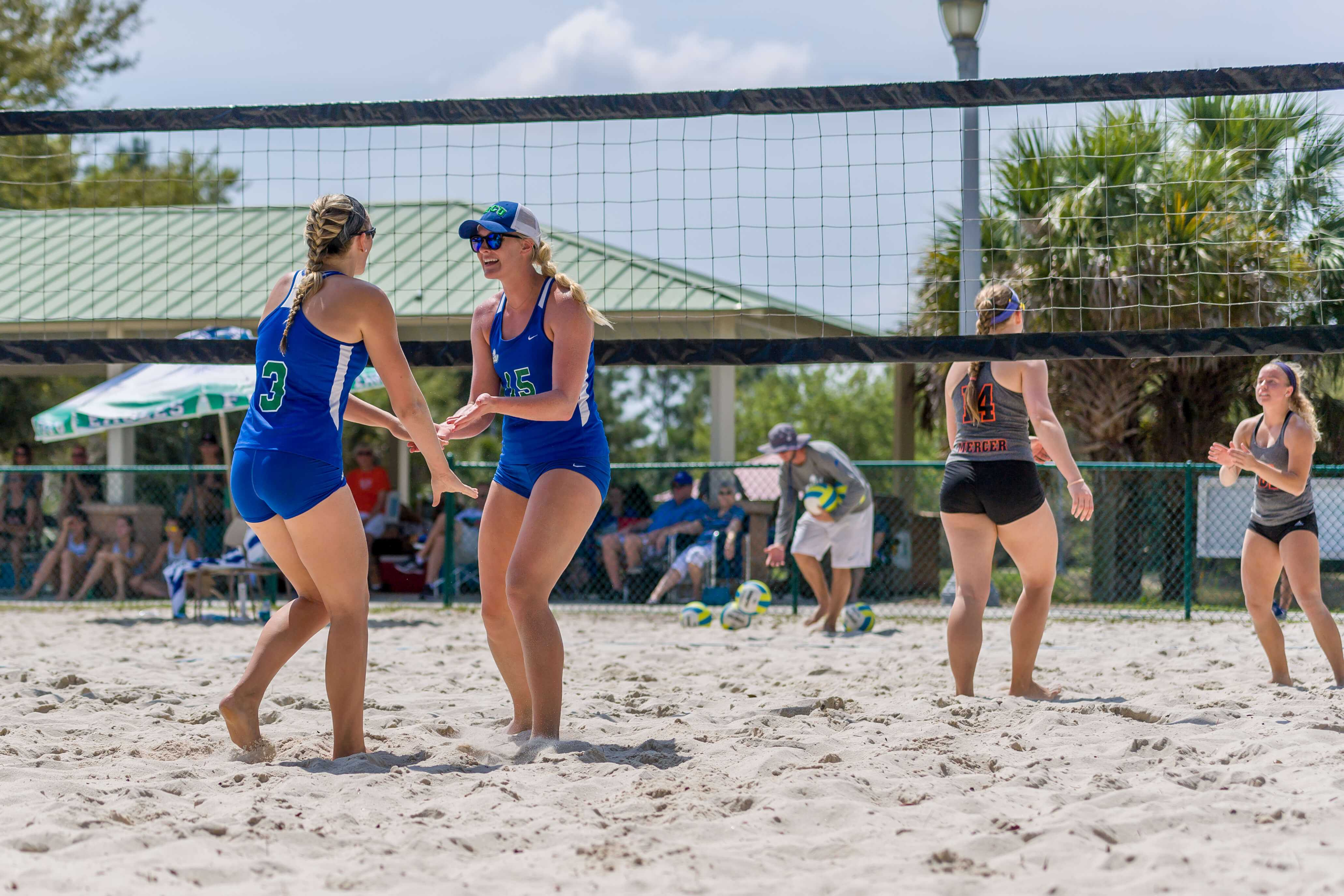 FGCU beach volleyball team takes down Webber International