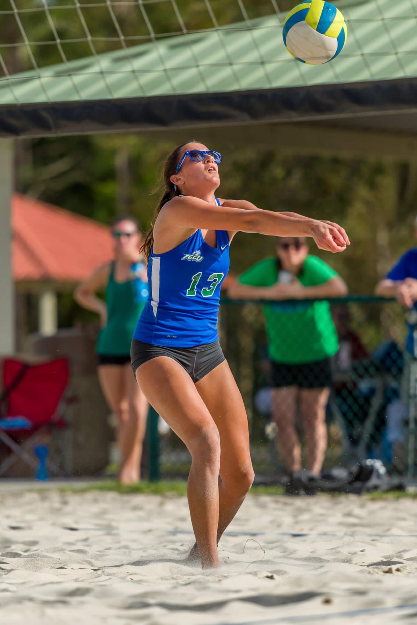Elisa Anne Aldrich named to the A-Sun's All-Freshman Team