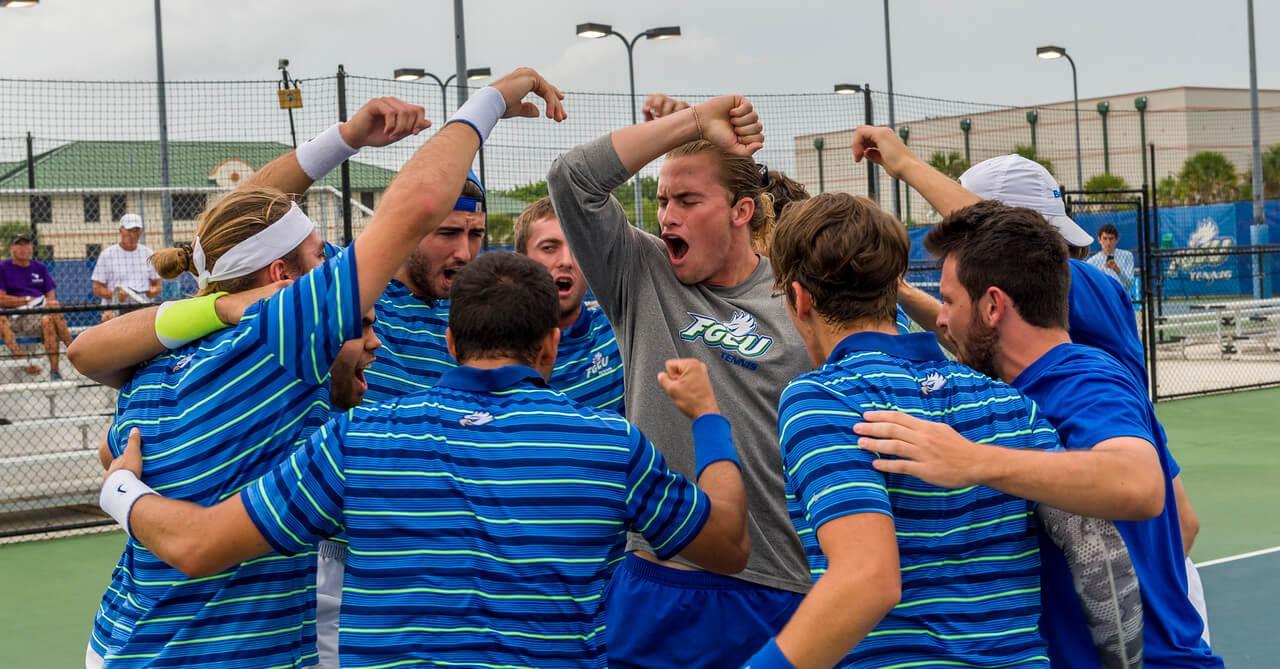 FGCU men's tennis dominates regular  season conference title