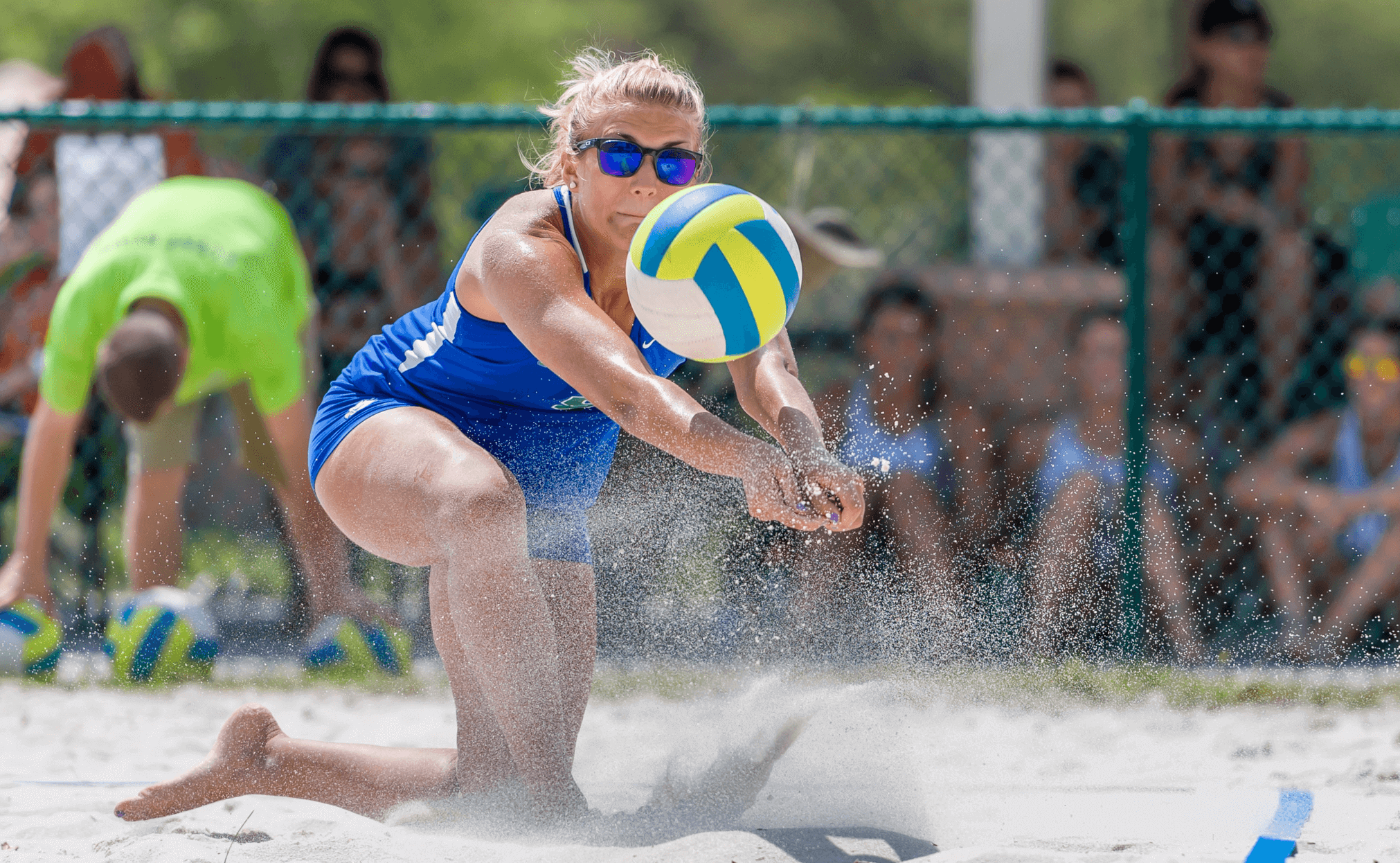 Beach volleyball goes undefeated in the Fiesta on Siesta