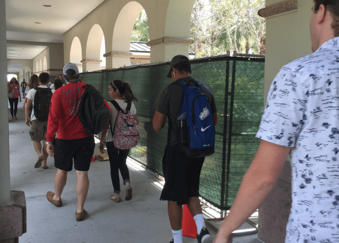 University closes smoking station one month early to build 'gathering areas'