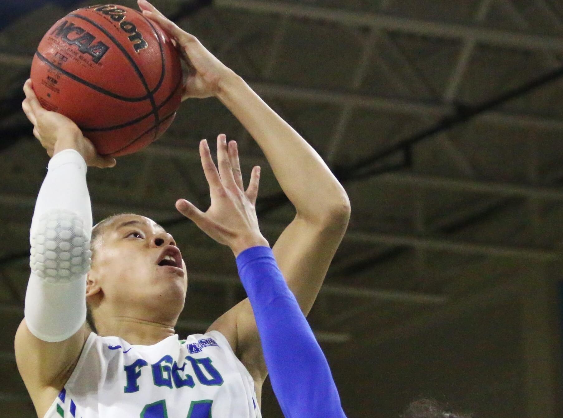 FGCU's Whitney Knight up for WNBA draft