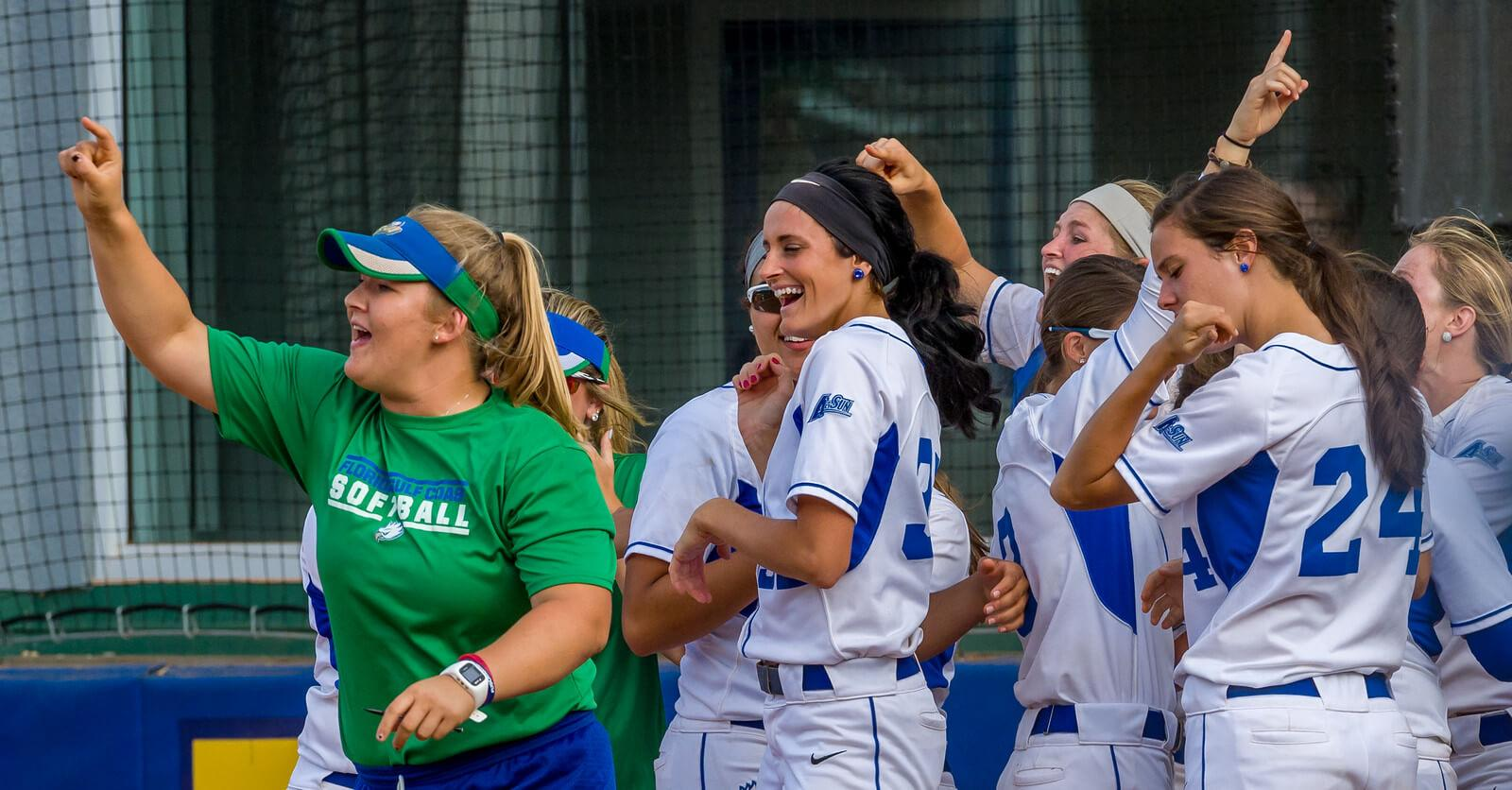 FGCU softball claims A-Sun title with series win over Jacksonville