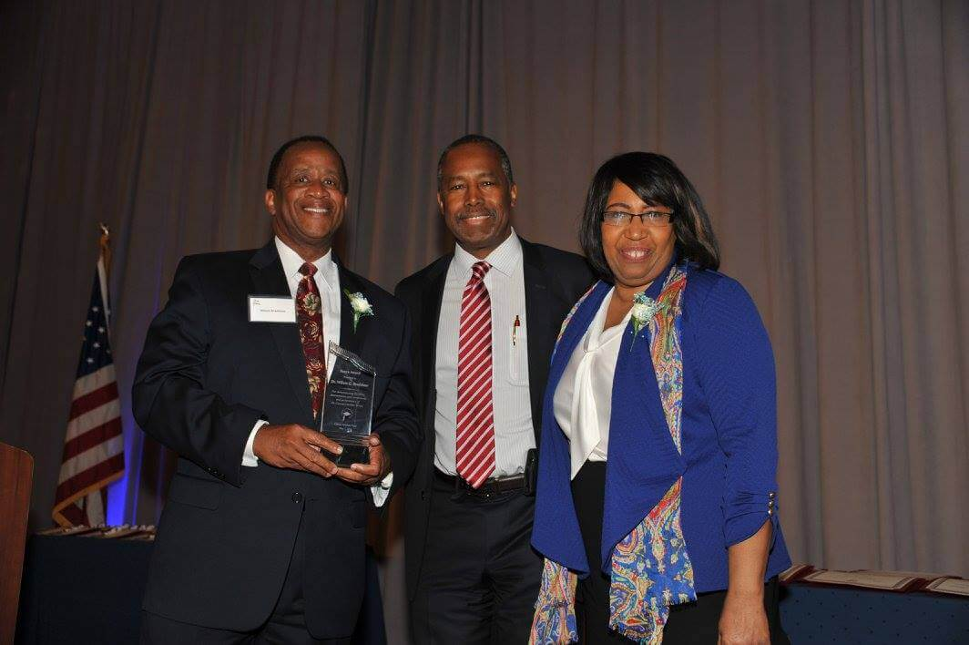 Bradshaw recognized by Dr. Ben Carson