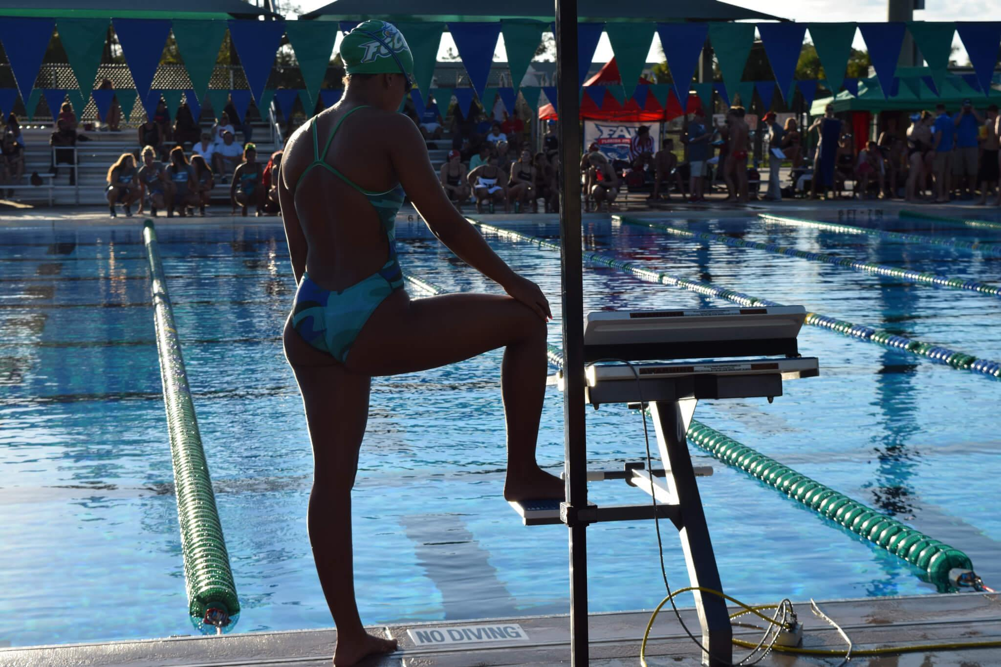 FGCU swimming and diving seniors prepare for Olympic qualifiers