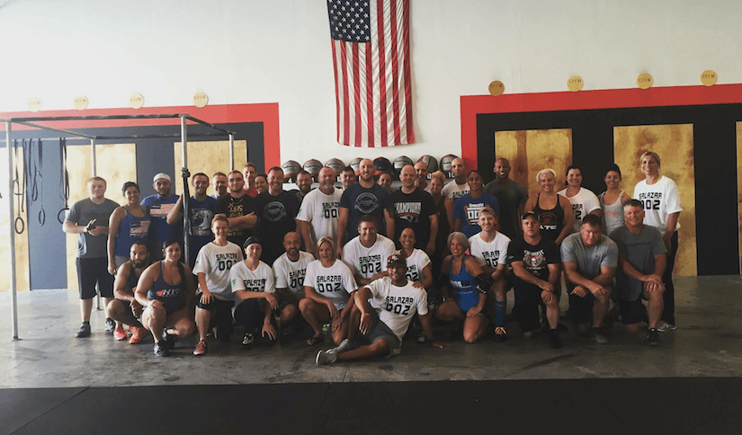 CrossFit of Lee County raise $4,000 for 8-year-old with Lymphoma