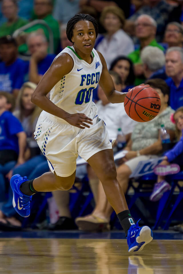 FGCU's DyTiesha Dunson nominated for ASUN NCAA Woman of the Year