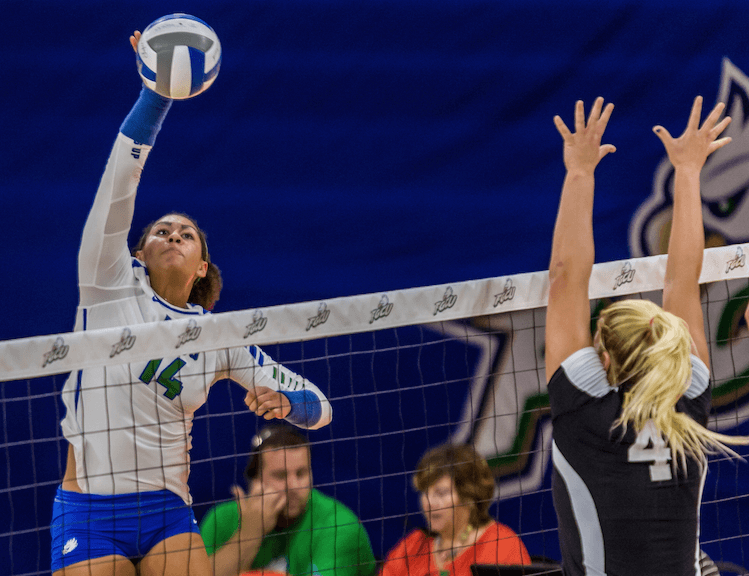 FGCU volleyball's Carroll takes advantage of USA Volleyball Camp