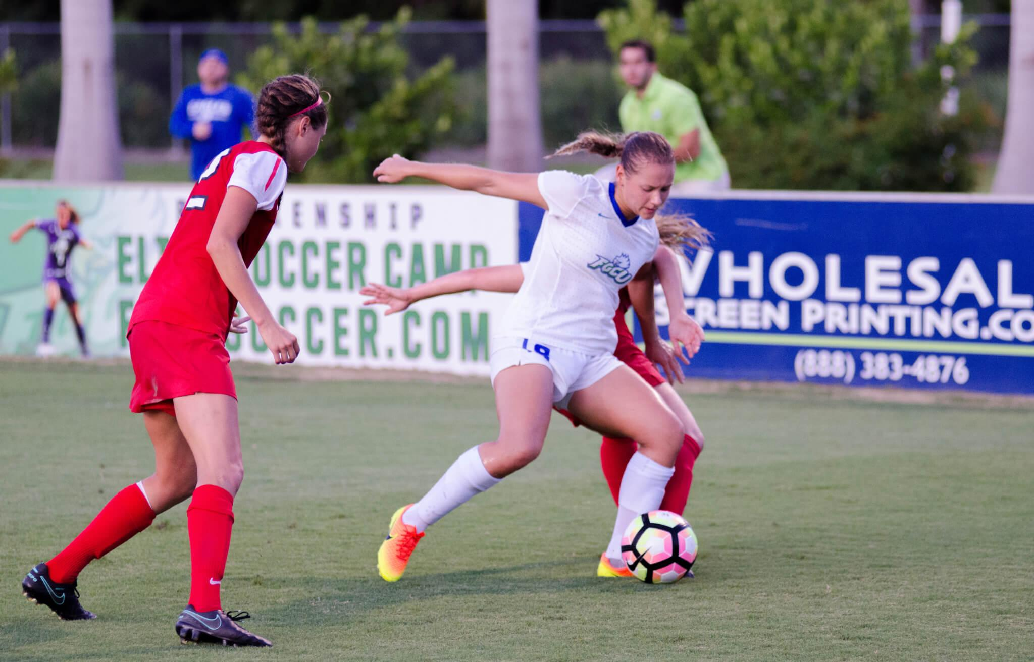 FGCU women's soccer suffers 1-0 loss in double overtime against Ohio State in home opener