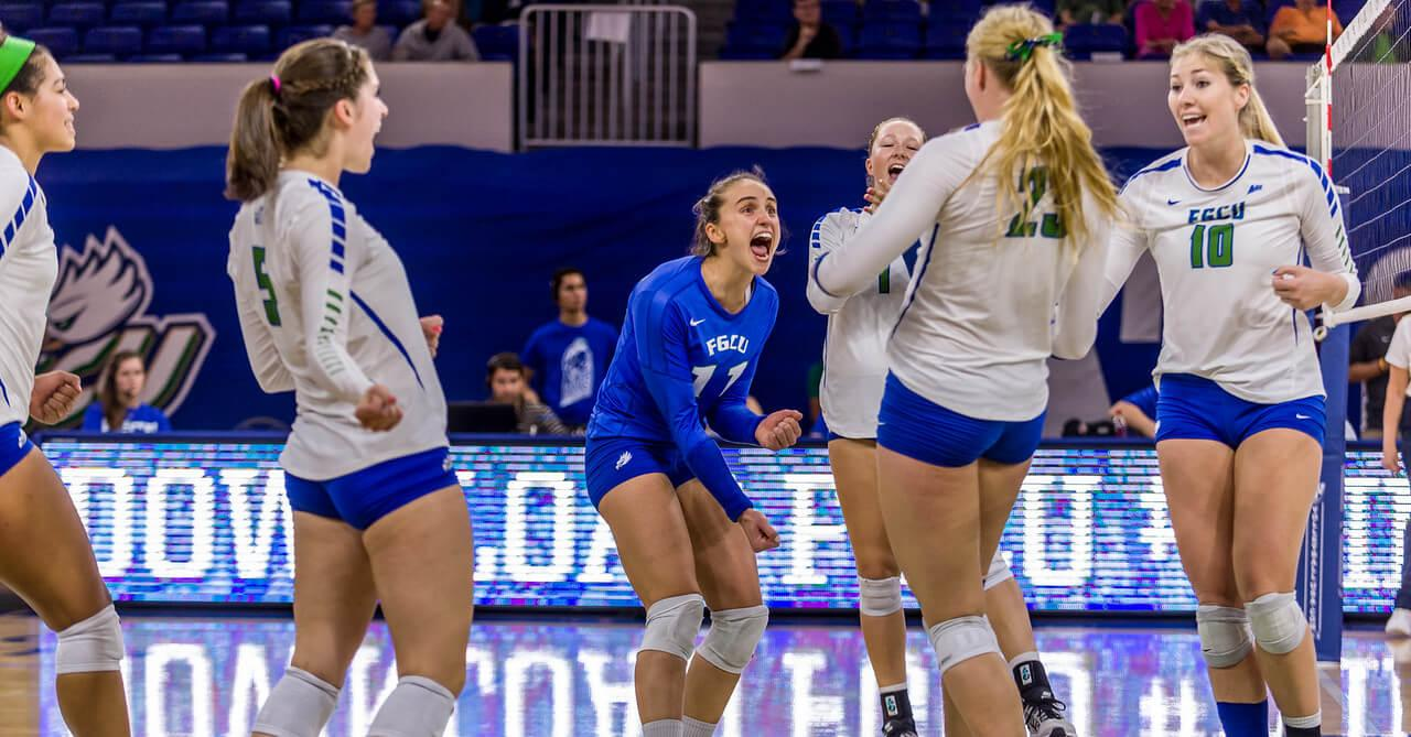 FGCU volleyball gets first win of the season over Ohio