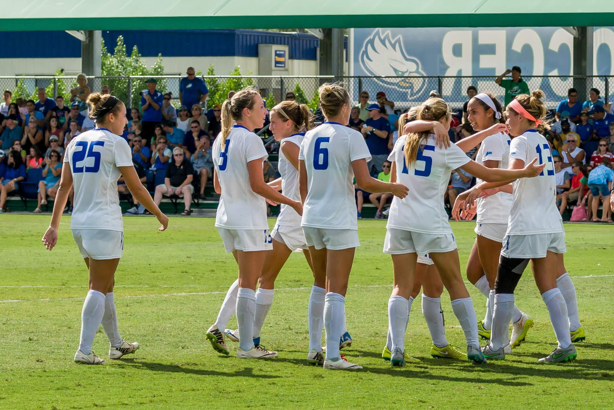 FGCU women's soccer kicks off 2016 season with a pair of games in the bay area