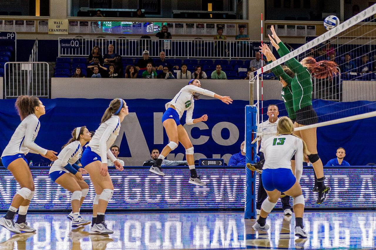 FGCU volleyball falls in season opener against Villanova