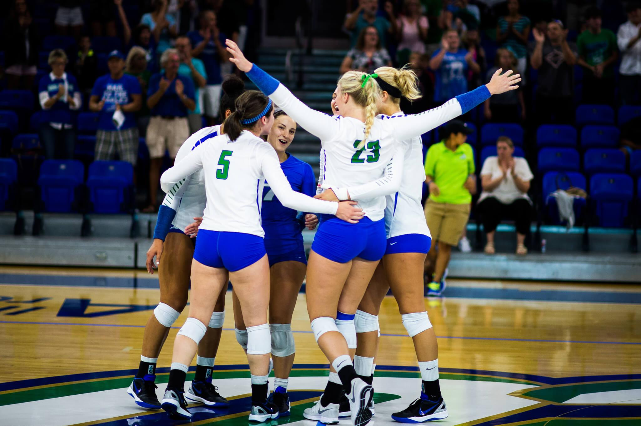 FGCU volleyball travels to Boca Raton to face four at the FAU Invitational