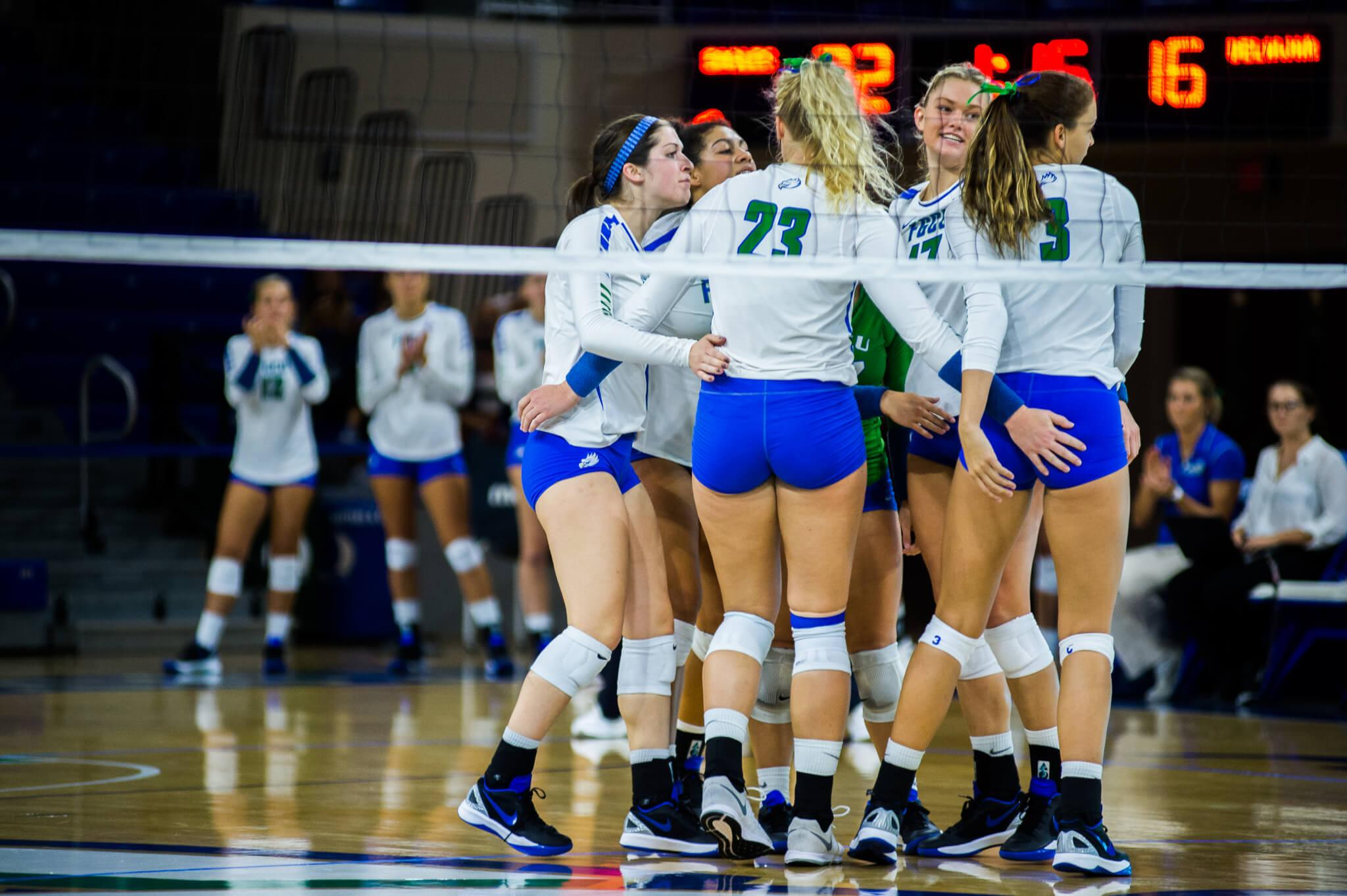 FGCU volleyball increases win streak to six with victories over Marist and Indiana