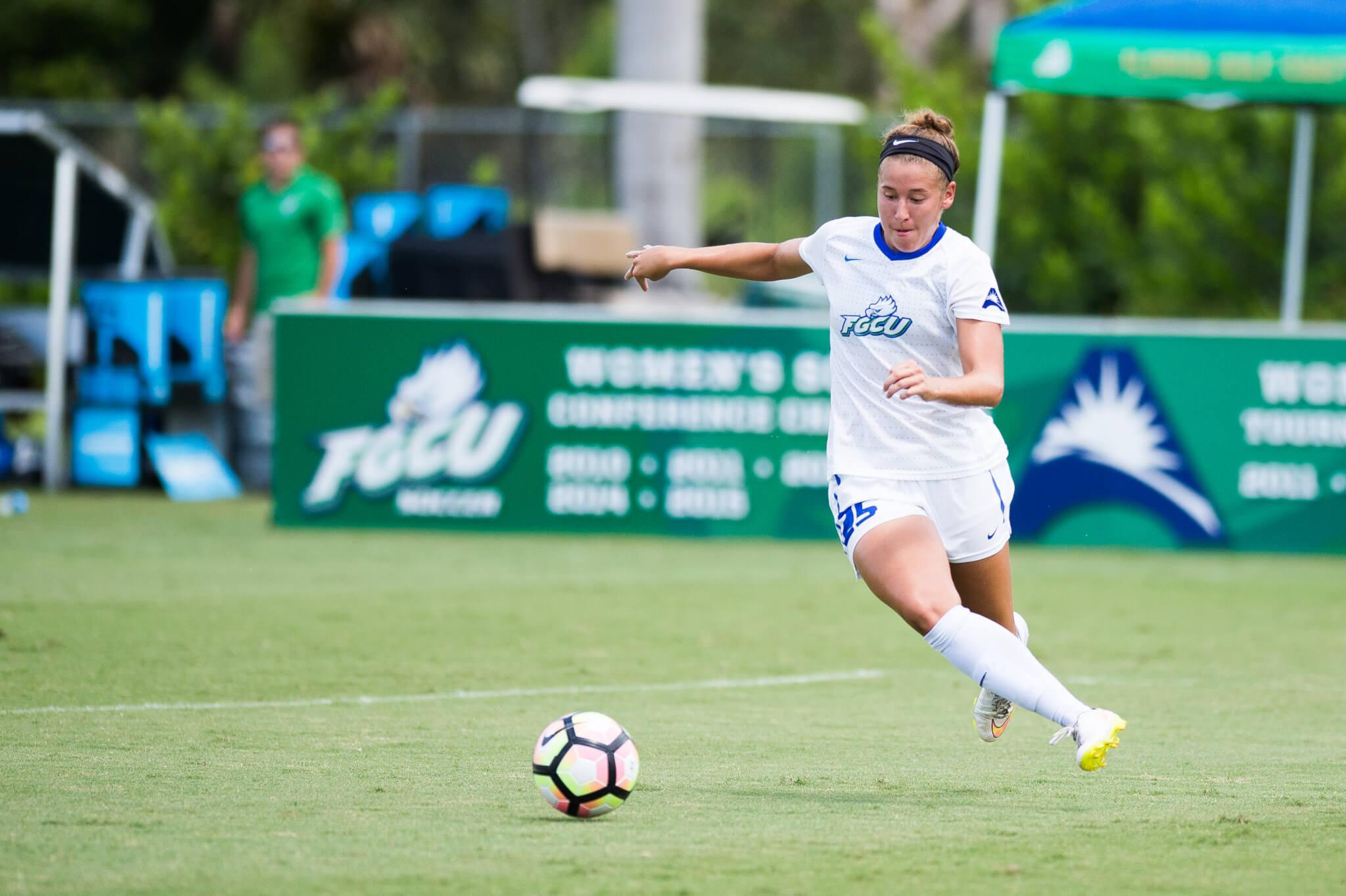 FGCU women's soccer splits in-state games against Miami and UCF