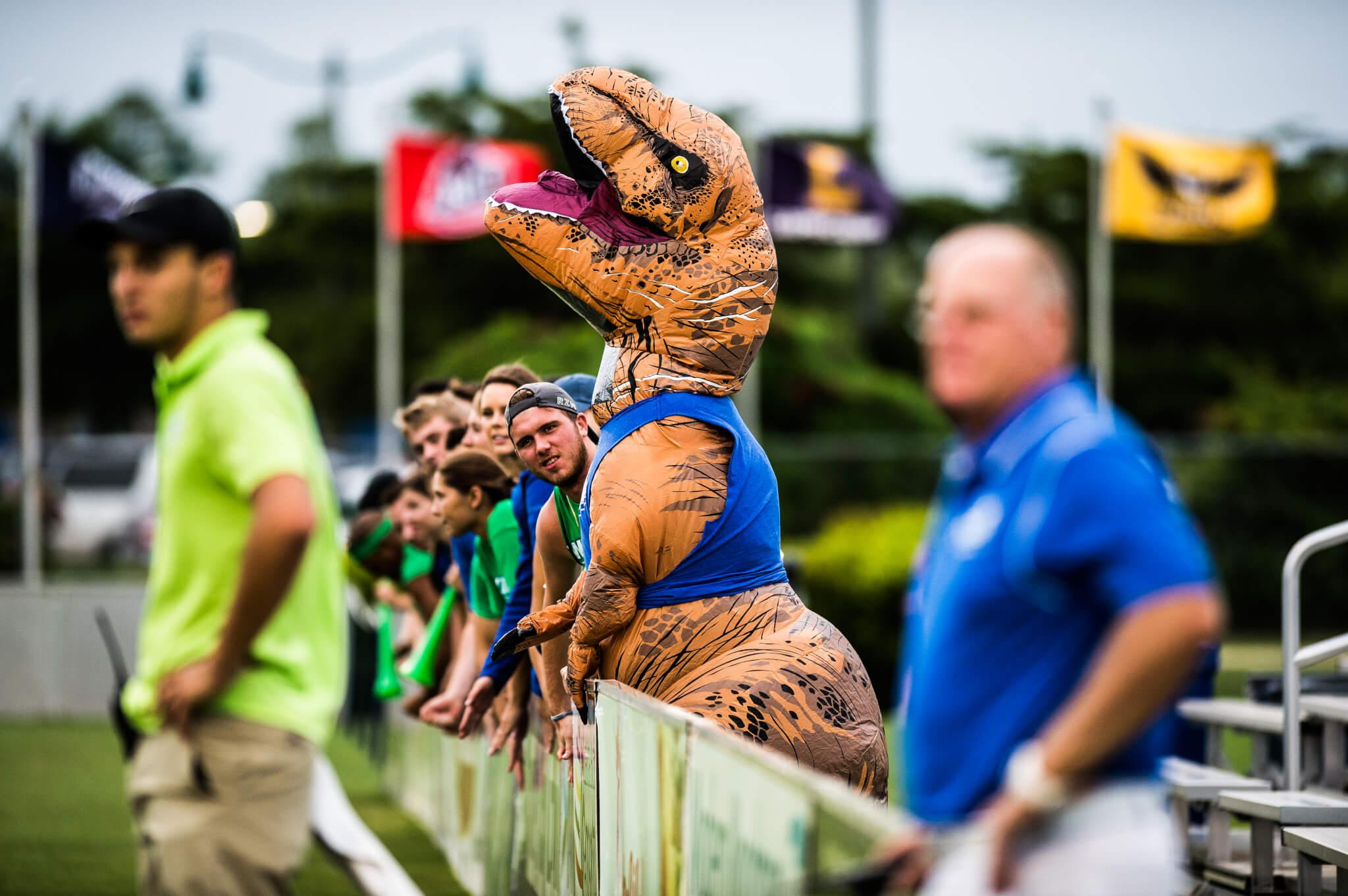 Dirty Dino: The T-Rex taking the Dirty Birds and FGCU Athletics by storm
