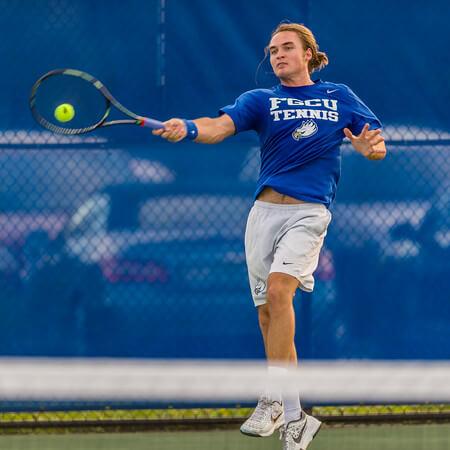 FGCU men's tennis opens 2016 season at Bedford Cup