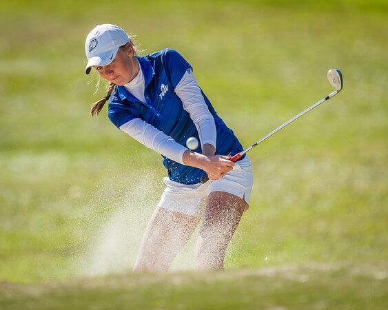 Womens golf at USA Womens Invitational