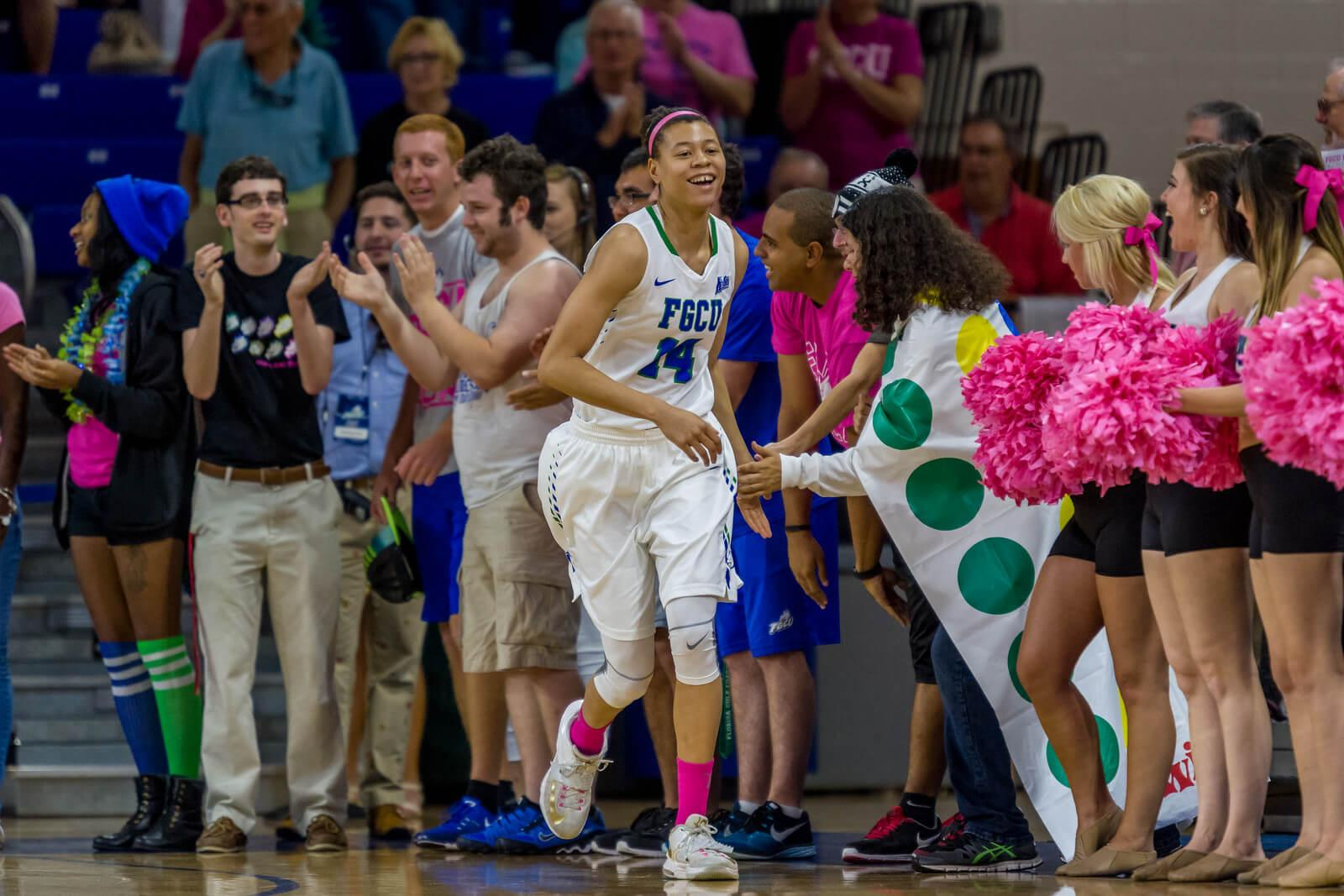 Former FGCU women's basketball standout Whitney Knight waived by the LA Sparks