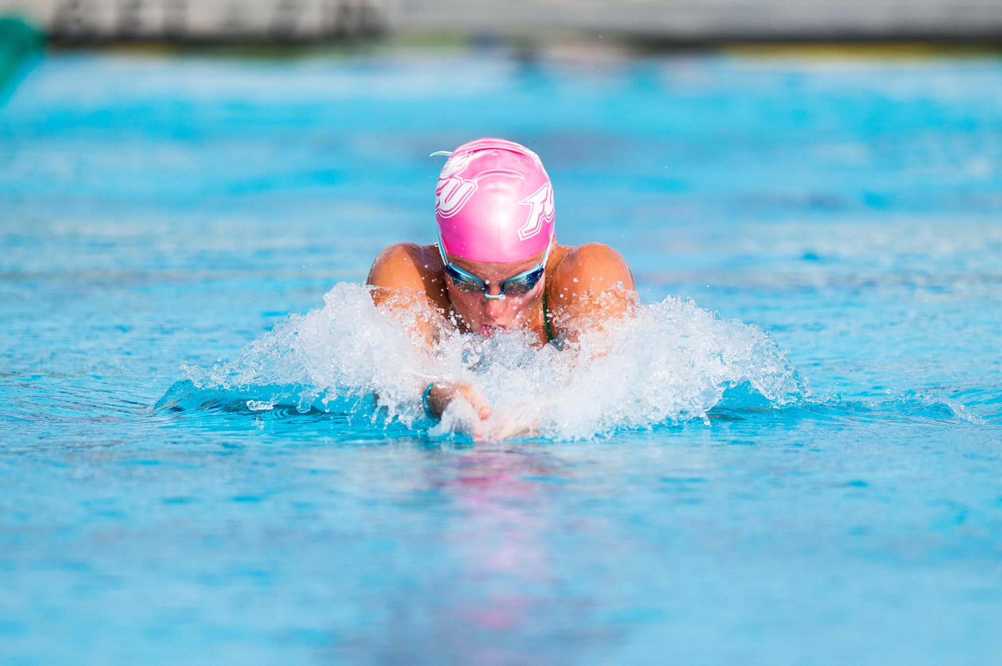 FGCU swimming and diving defeats four of five opponents at UCLA meet