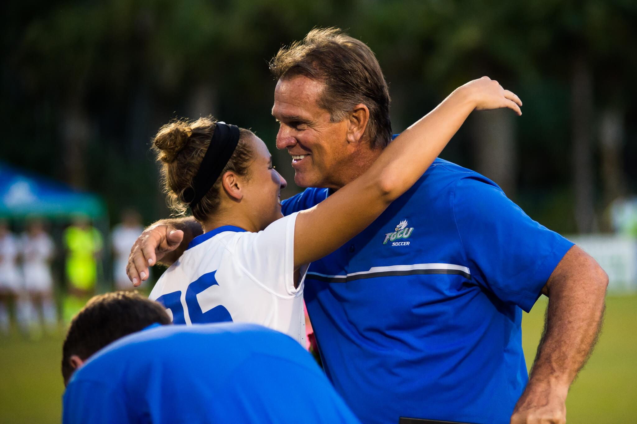 FGCU women's soccer takes first place in ASUN Conference with 2-1 victory over Stetson