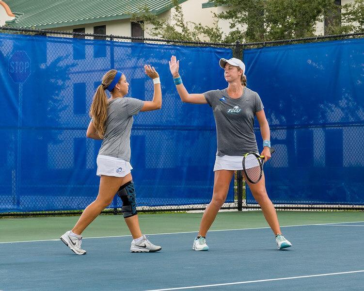 FGCU women's tennis remains successful at FGCU Fall Invite