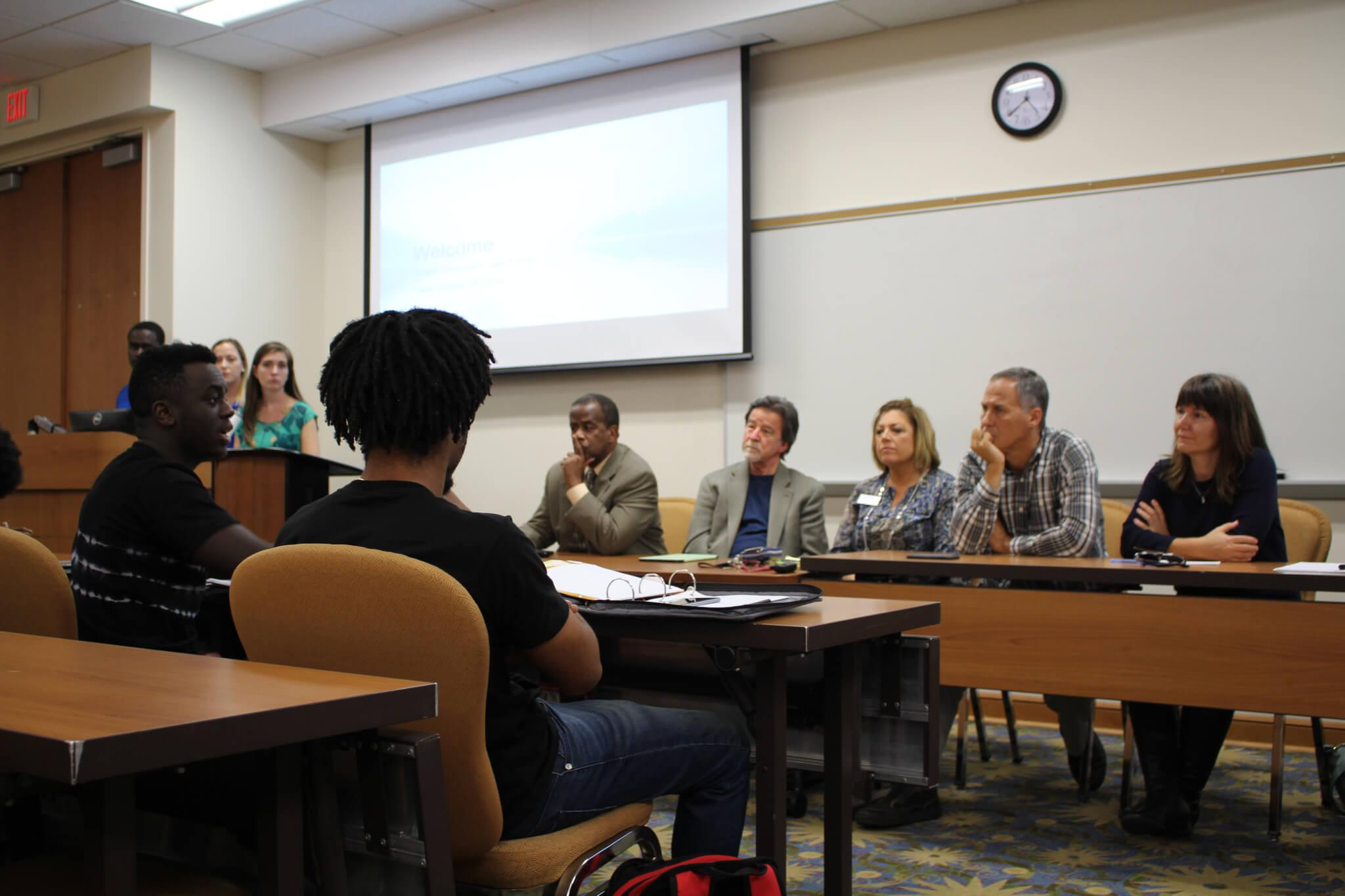 Student Government hosts open forum in light of recent protests