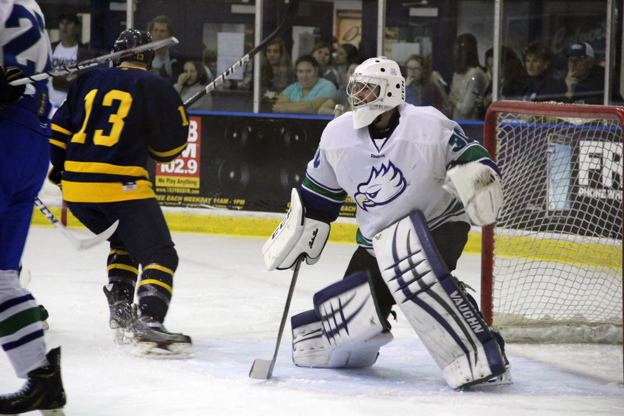 FGCU DII hockey completes weekend sweep of Holy Cross