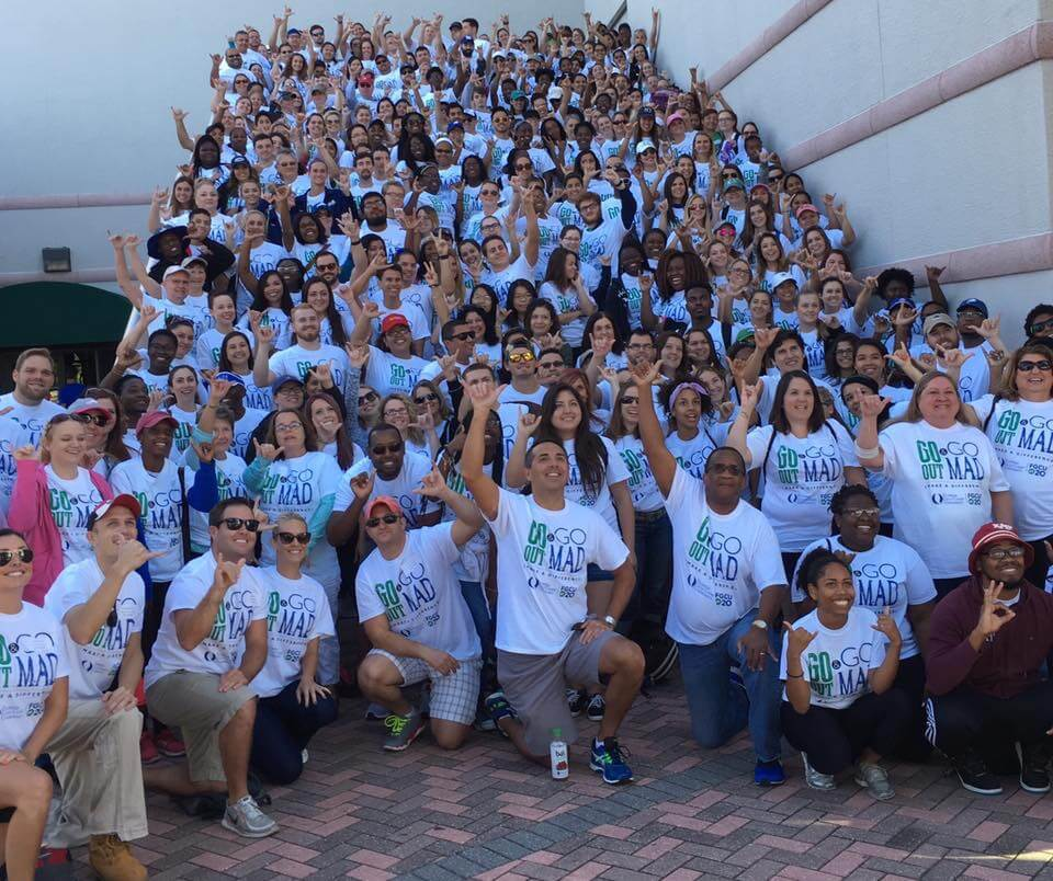 More than 400 volunteers attend Make A Difference Day