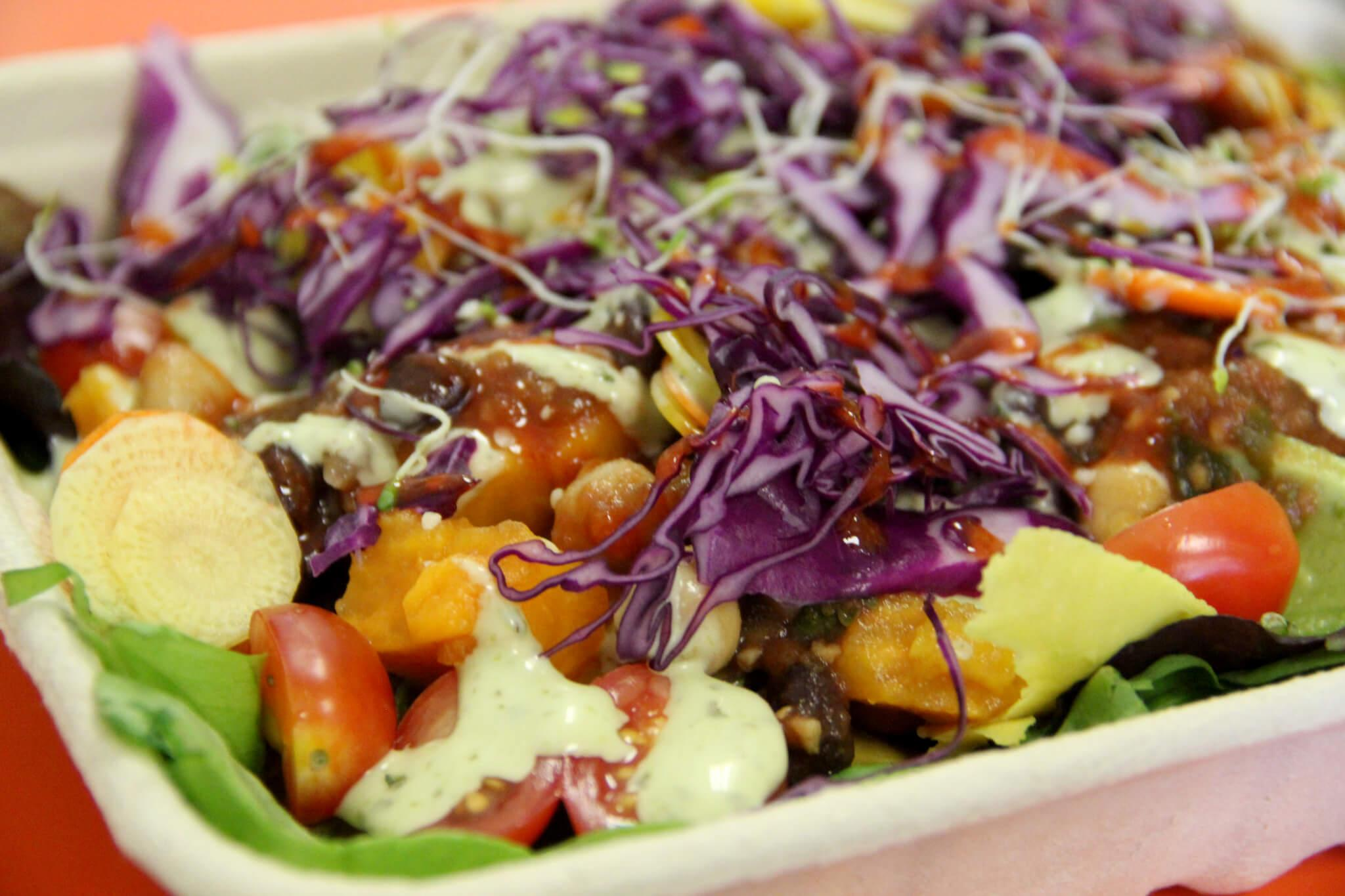 Organically Twisted serves up anything but a conventional menu